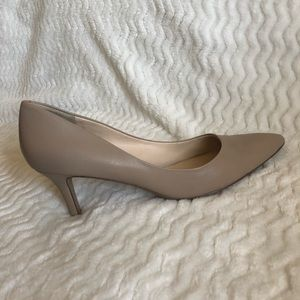 Nine West Women's Genuine Leather Heels, Size 9
